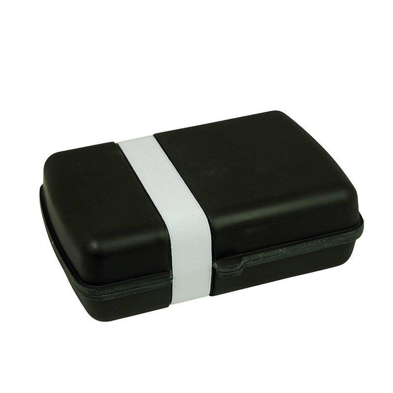 plastikfreie to go lunchbox schwarz. Black Bedroom Furniture Sets. Home Design Ideas