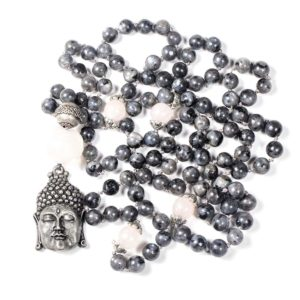 mala-kette-larvikit-rosenquarz-buddha-2