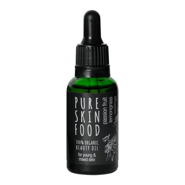 Beauty-oel-gesicht-junge-haut-mischhaut-pure-skin-food-vegane-bio-kosmetik
