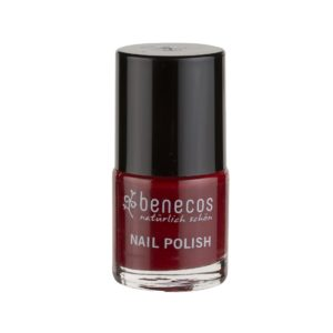 Benecos-Nagellack-vegan-cherry-red