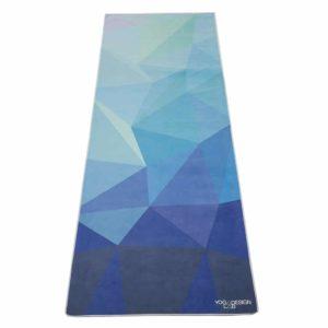 Yoga-Design-Lab-Handtuch-Geo-Blue