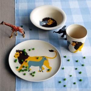 Geschirrset-Hungry-Kids-Zuperzozial-Lion-plastikfrei