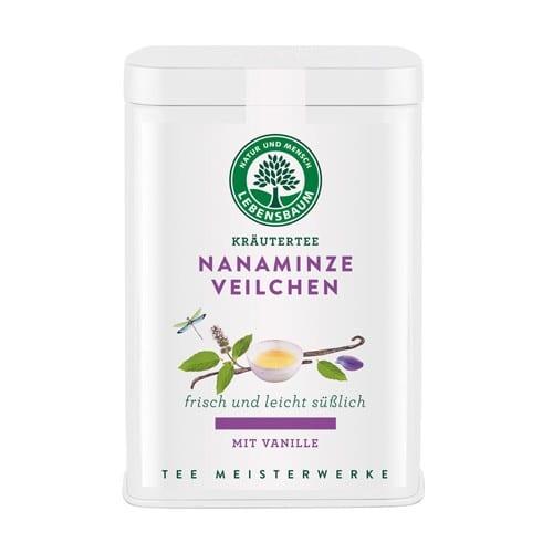 Lebensbaum_Bio-Tee_nanaminze_veilchen