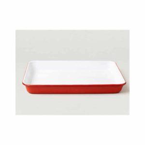 Falcon Burger Platte aus Emaille