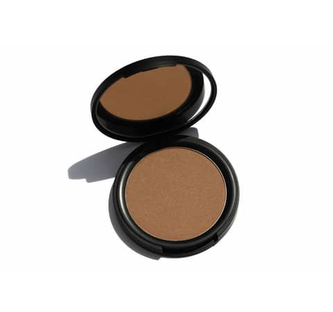 HIRO Pressed Powder Bronzer Glam with a Tan