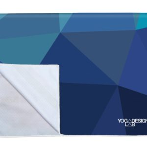 YDL Power Grip Towel Geo Blue