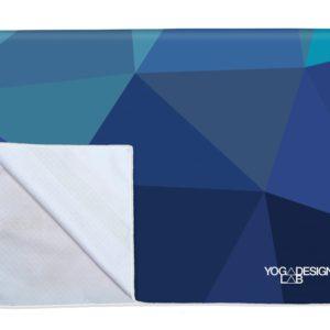 YDL Power Grip Towel Geo Blue