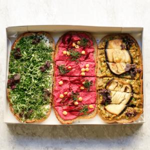 Seminarplatte Brot Box vegan