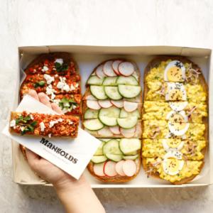 Seminar Platte Brot Box veggie Imagebild