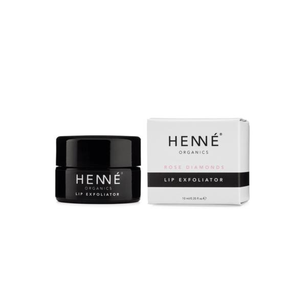 Henne Lip Exfoliator Rose Diamonds Verpackung
