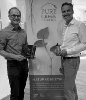 Alpin Organics - Naturkosmetik Gründer Werner Murr und Gordon Koell