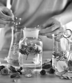 Alpine Organics - Herstellung von Naturkosmetik in Gläsern