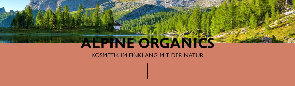 Header Naturkosmetikmarken - Alpine Organics