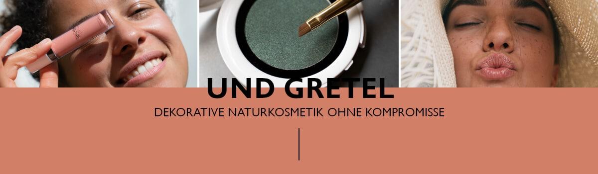 Header Naturkosmetikmarken - Und Gretel