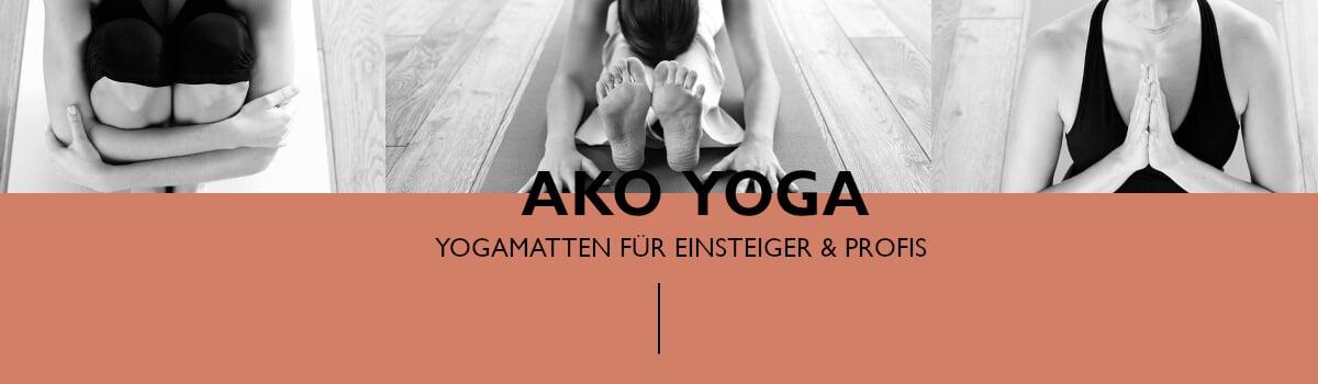 Header Yogamarken - Ako Yoga - Frauen in Yogaposen