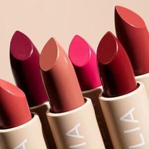 Ilia Beauty Naturkosmetik - Lippenstifte in verschiedenen Farbtönen