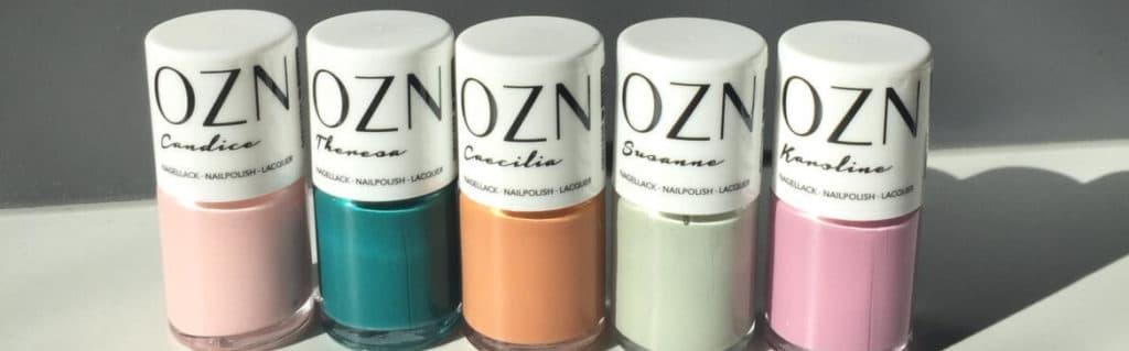 OZN - Naturkosmetik - Veganer Nagellack - Produkte