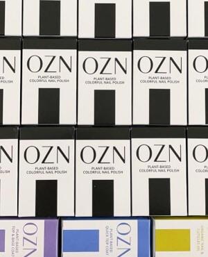 OZN - Naturkosmetik - Veganer Nagellack - Verpackungen